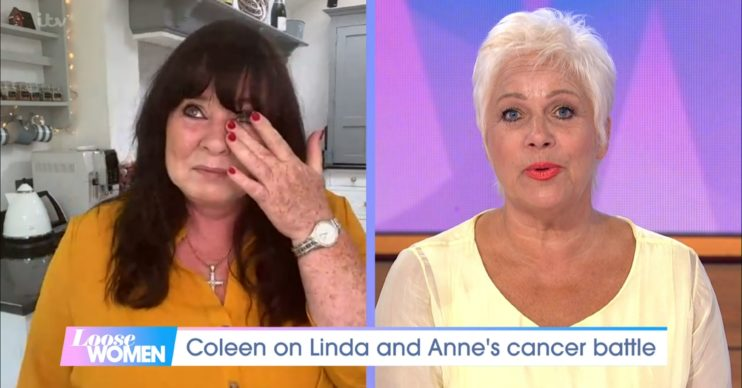 Coleen Nolan tears on Loose Women over sisters' cancer