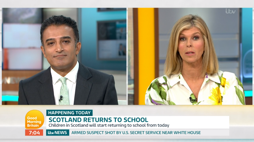Adil and Kate GMB (Credit: ITV)