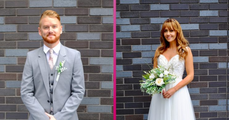 Coronation Street Gary Maria wedding