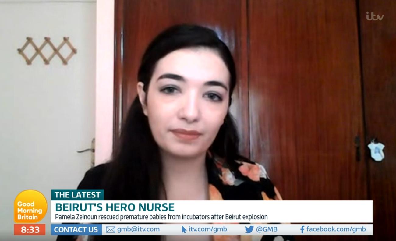 Beirut nurse