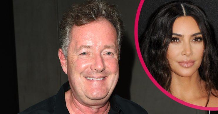 Piers Morgan Kim Kardashian