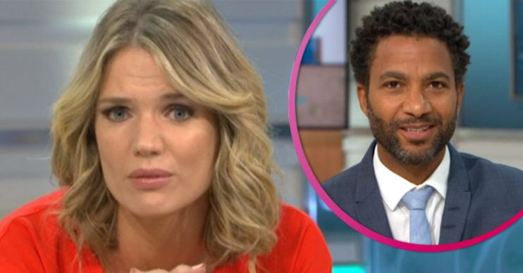 Charlotte Hawkins and Sean Fletcher on GMB