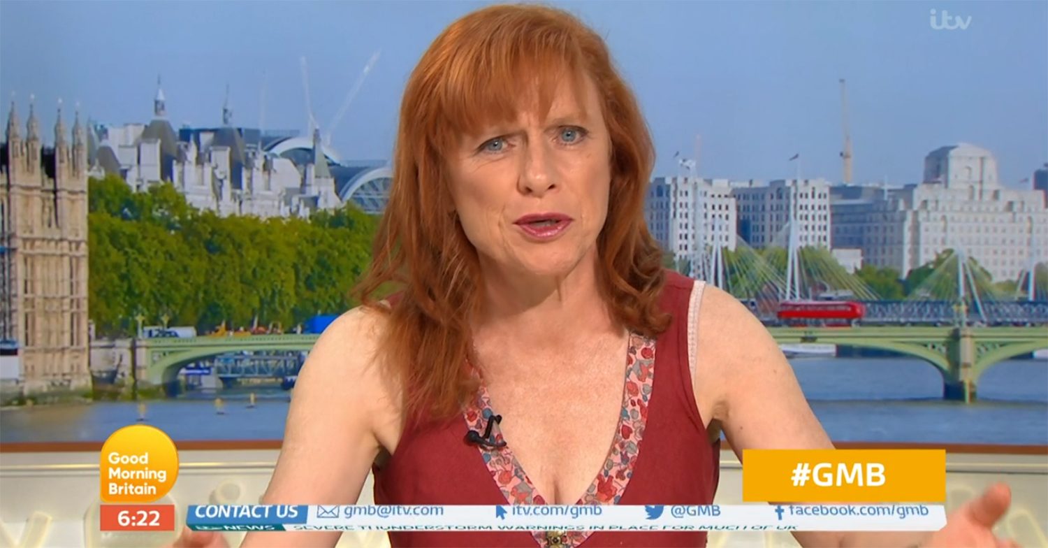 Dr Sarah Jarvis on GMB