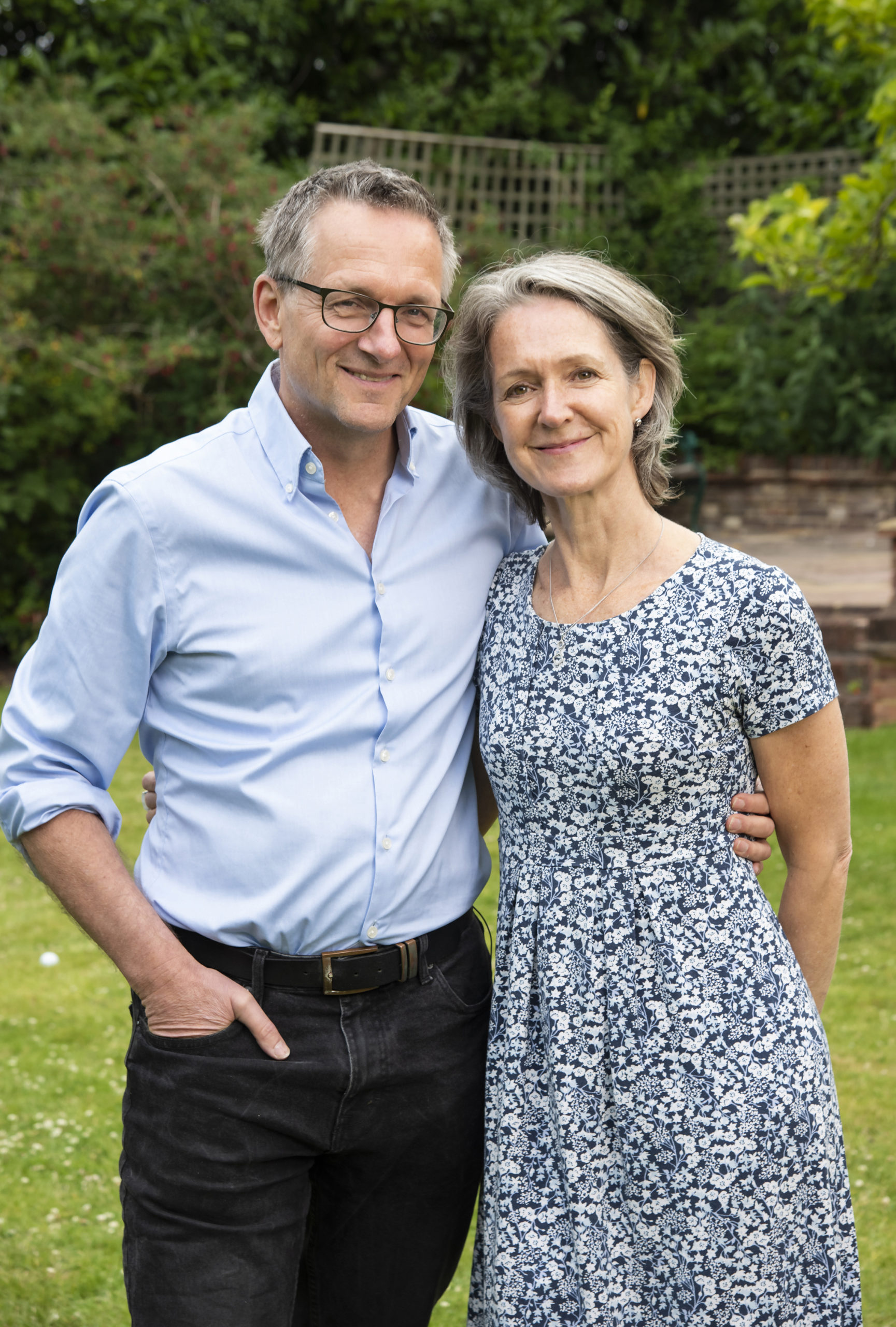 Michael Mosley and Claire Mosley