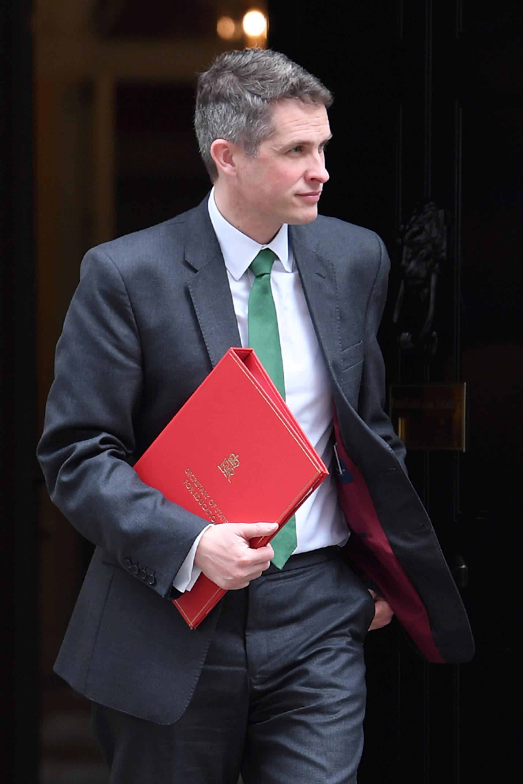 Piers Morgan education secretary