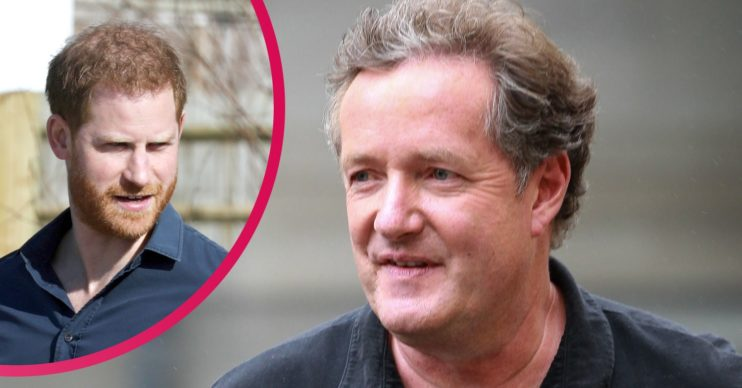 Piers Morgan prince harry