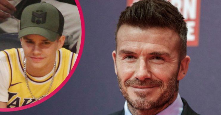 David Beckham son Romeo