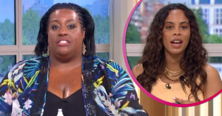 Alison Hammond and Rochelle Humes on This Morning