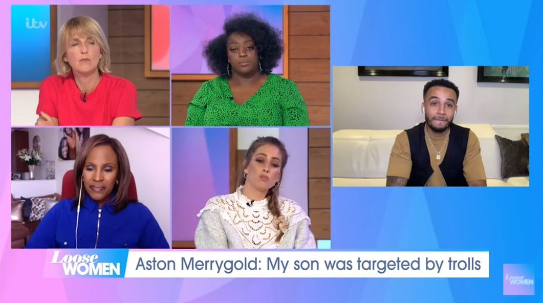 Loose Women Aston Merrygold