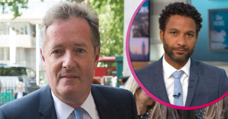 Piers Morgan and Sean Fletcher