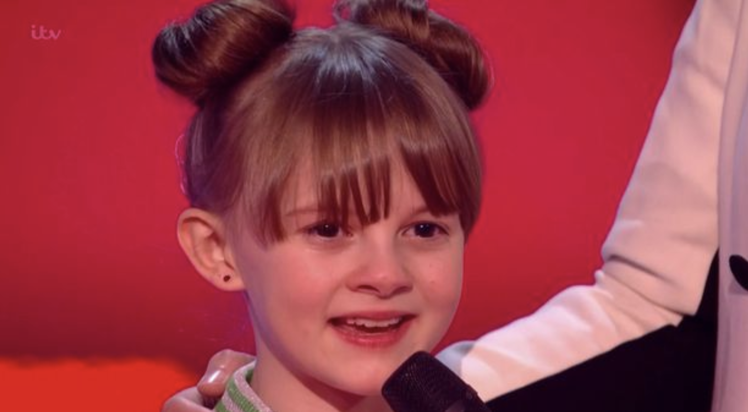 Kerry Katona watched daughter Heidi lose out on a place for the semi-finals