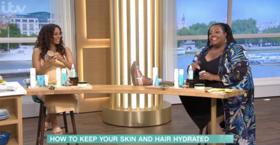 this morning alison hammond rochelle humes