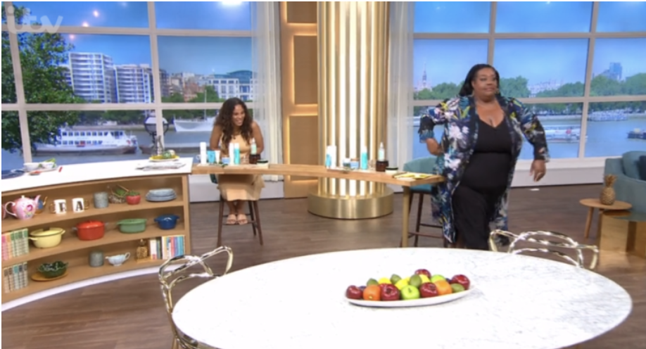 Alison Hammond left the set leaving Rochelle Humes in hysterics