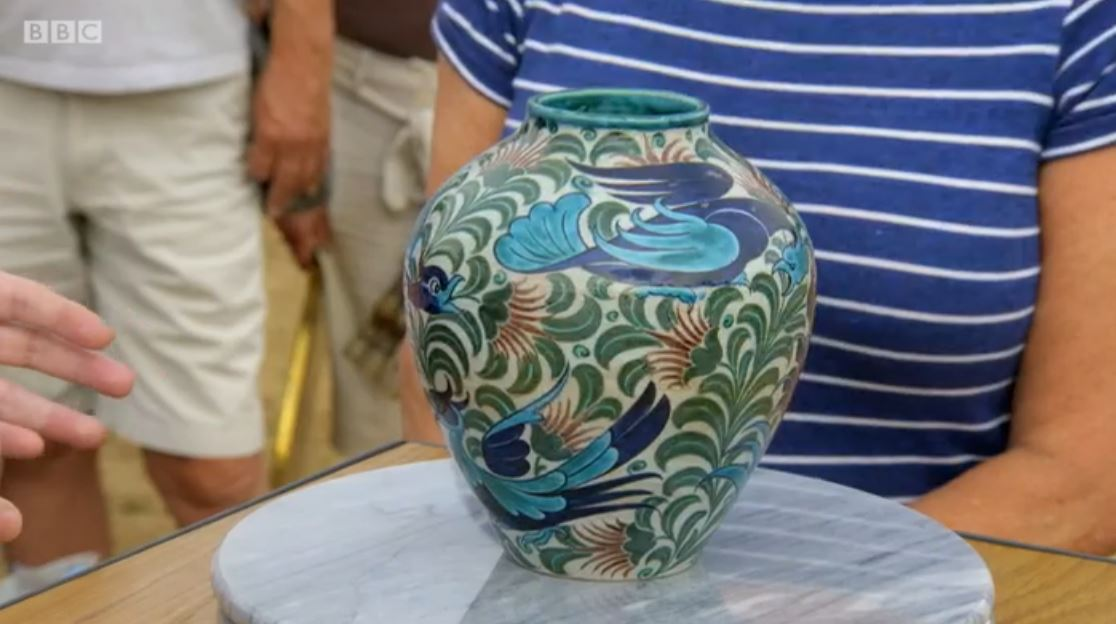 antiques roadshow vase