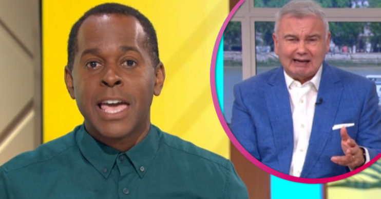 Andi Peters and Eamonn Holmes