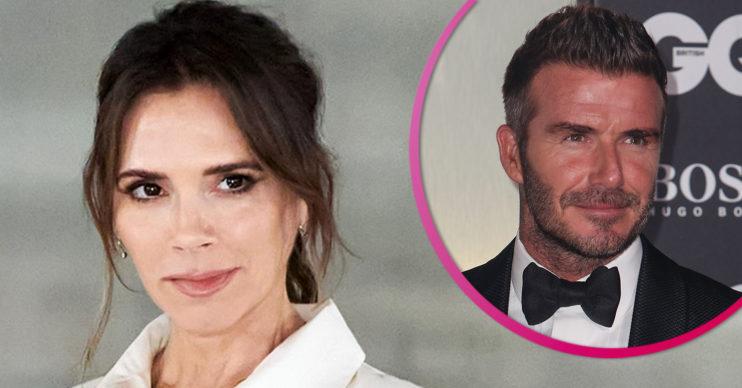 Victoria Beckham and David