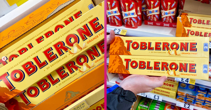 Orange Toblerone