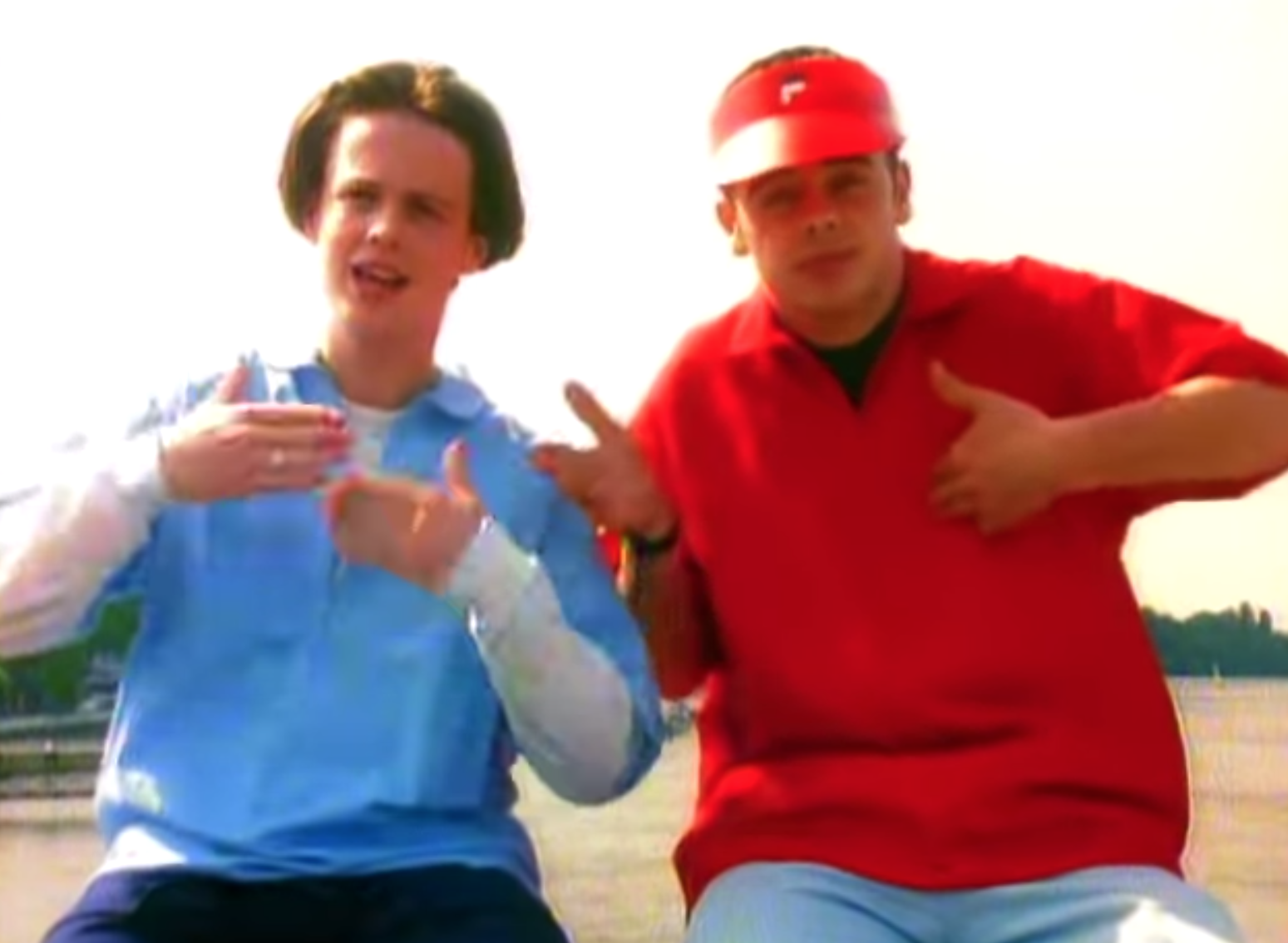 Ant and Dec as PJ & Duncan