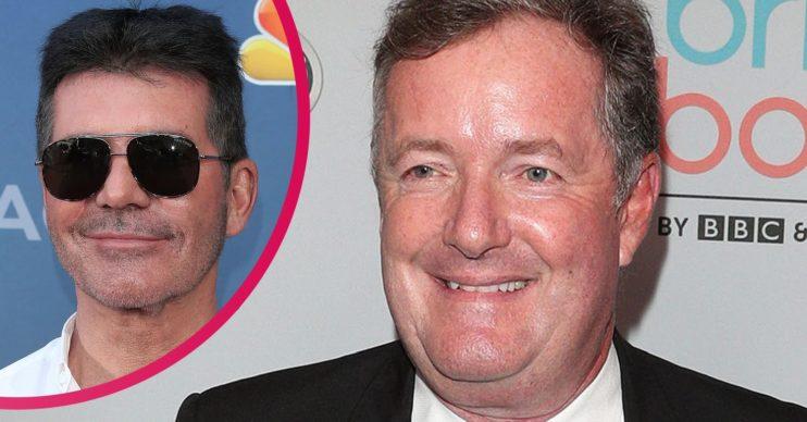 piers morgan news: Star and Simon Cowell