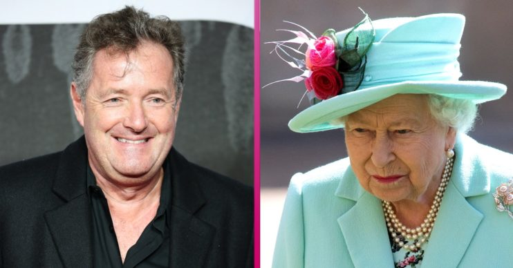 piers morgan the queen
