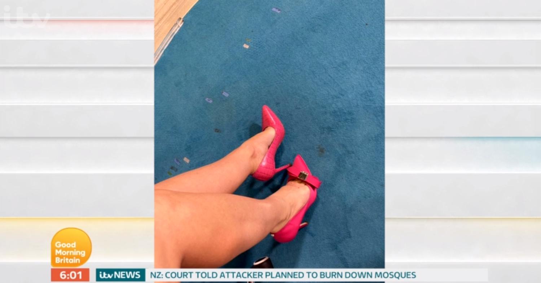 Charlotte Hawkins shoes
