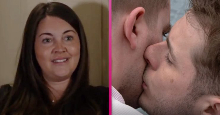 EastEnders return kissing social distance