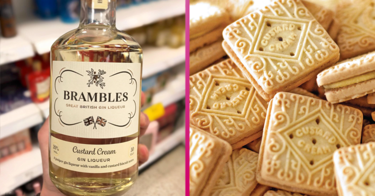 custard cream gin