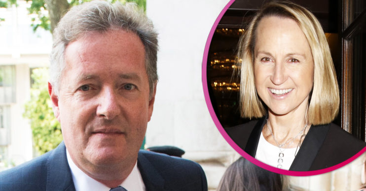 Piers Morgan and Carol McGiffin