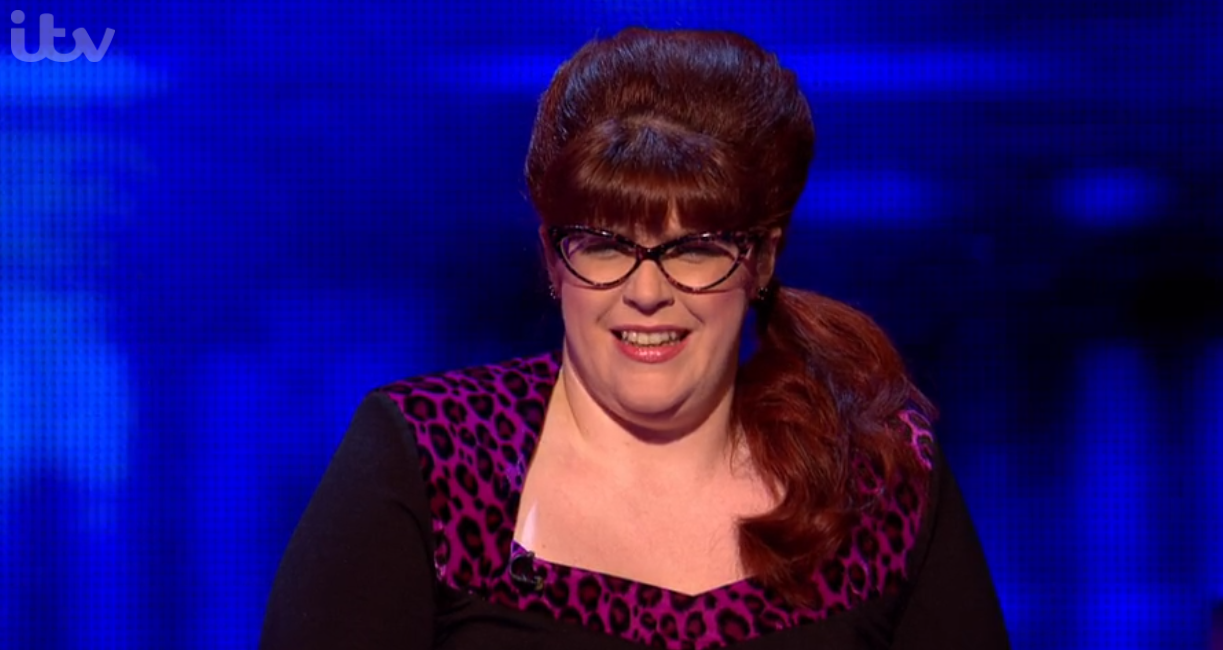 The Chase contestant corrects jenny ryan