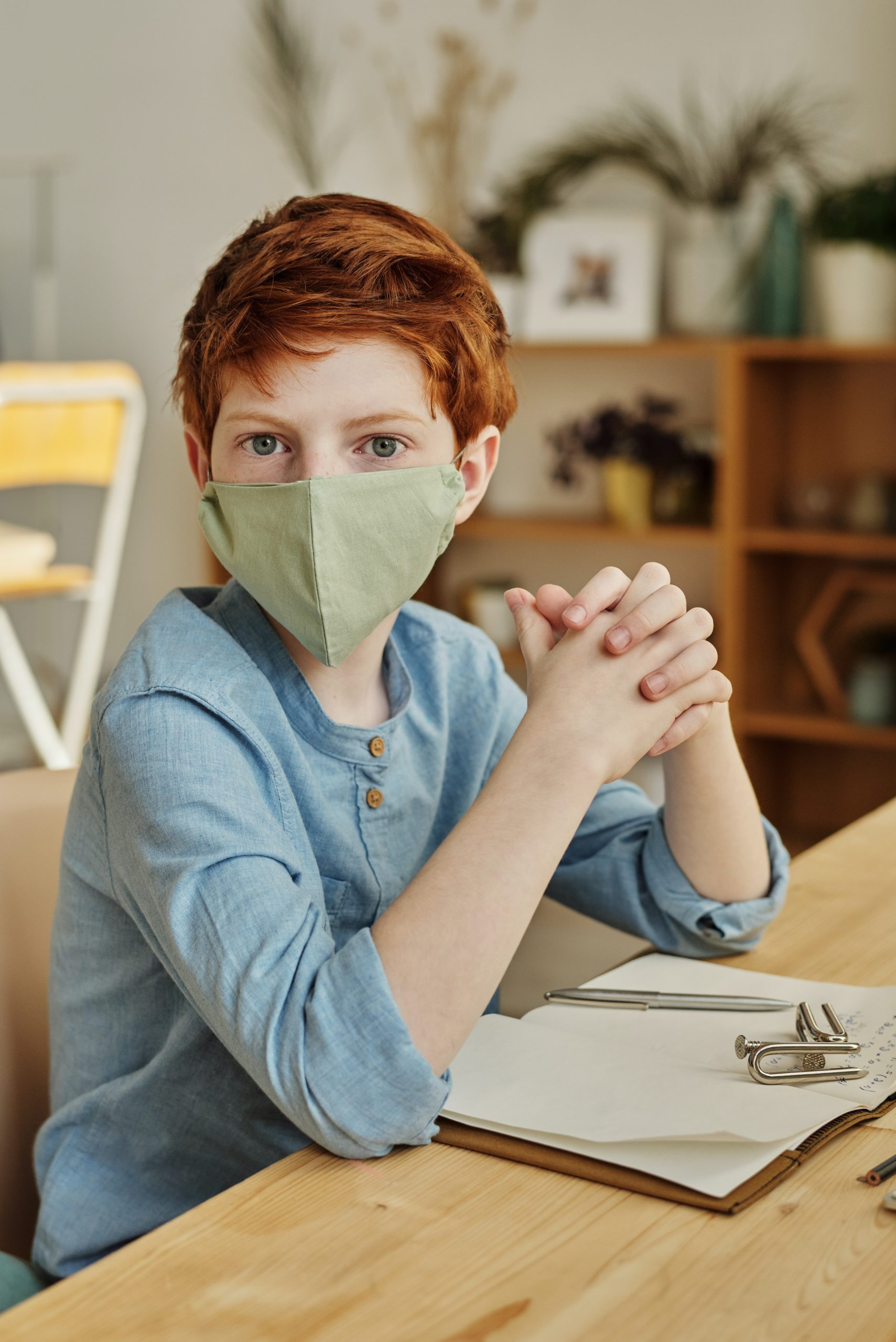 face masks at school