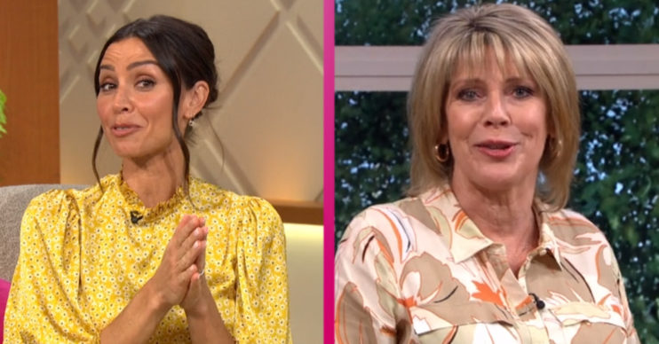Christine Lampard and Ruth Langsford