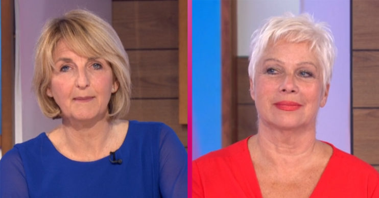 Kaye Adams and Denise Welch