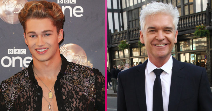 AJ Pritchard and Phillip Schofield Strictly