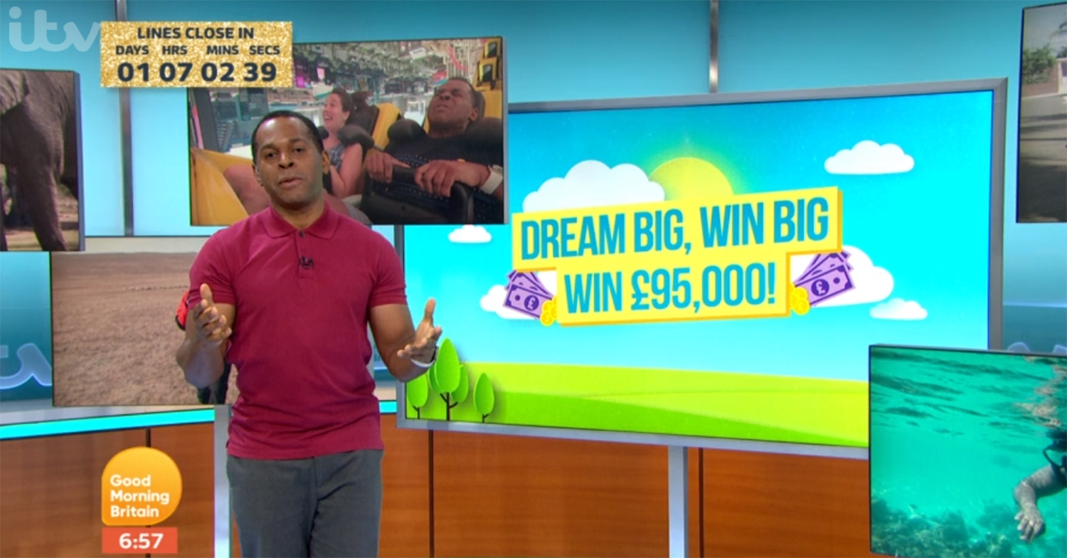Andi Peters on GMB