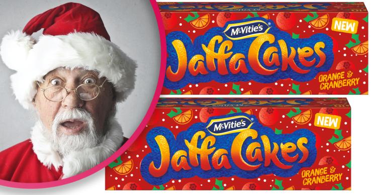 Christmas Jaffa Cakes
