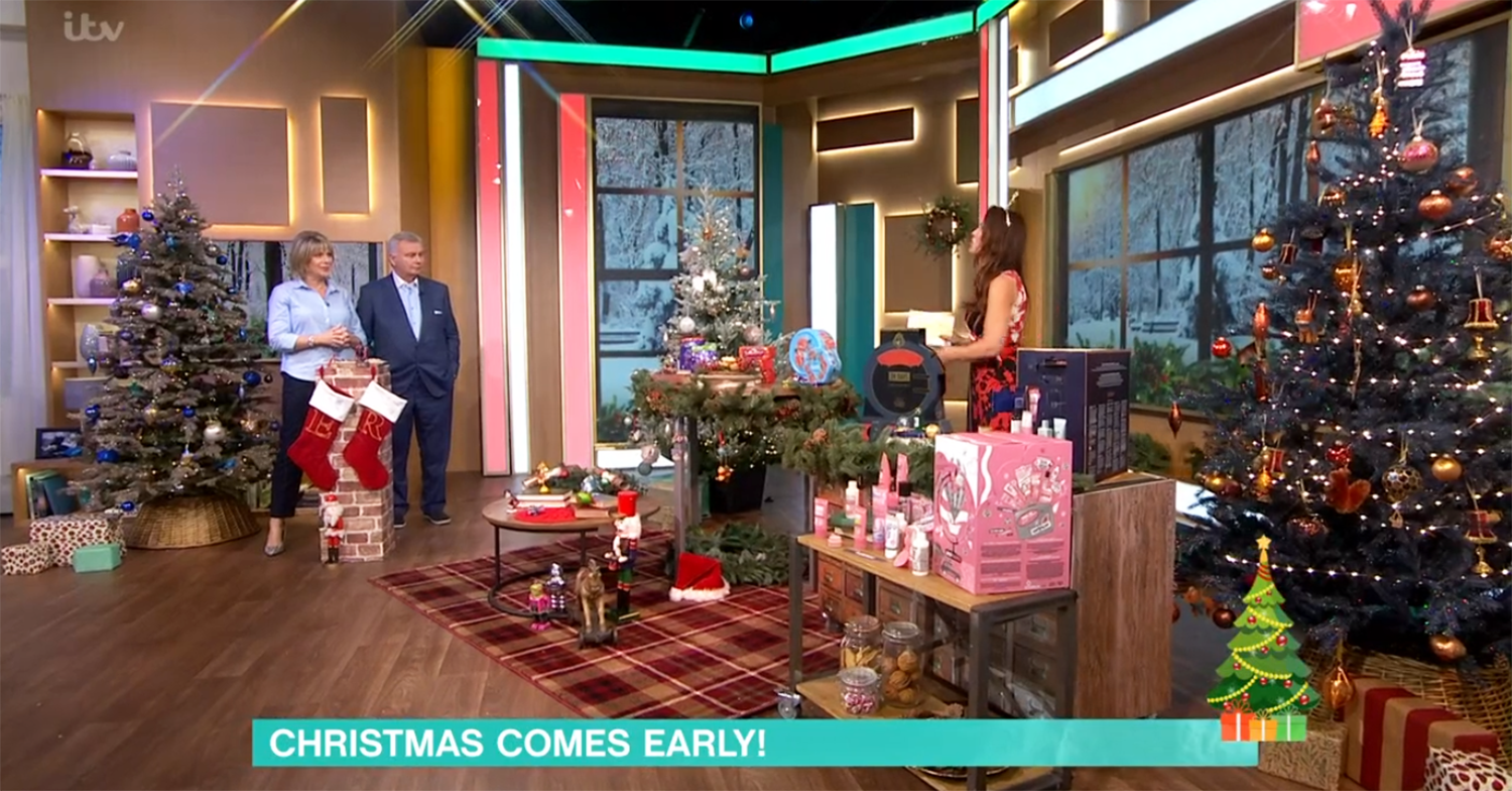 This Morning Christmas segment
