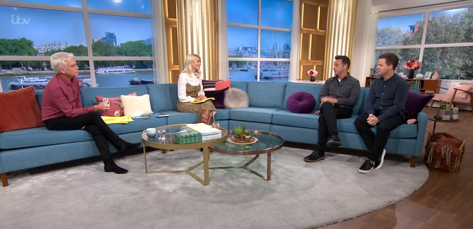 Ant and Dec on This Morning