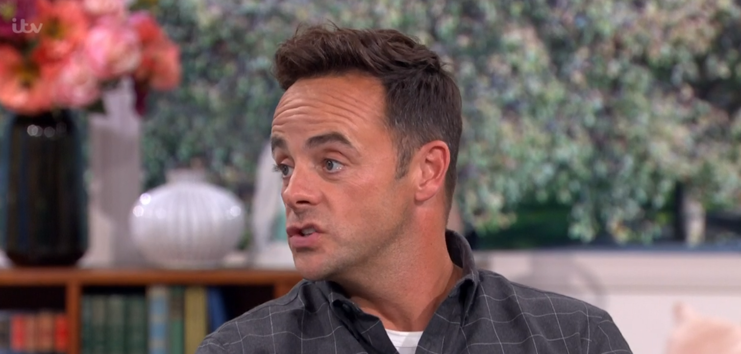 Ant McPartlin on This Morning