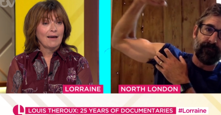 Louis Theroux on Lorraine