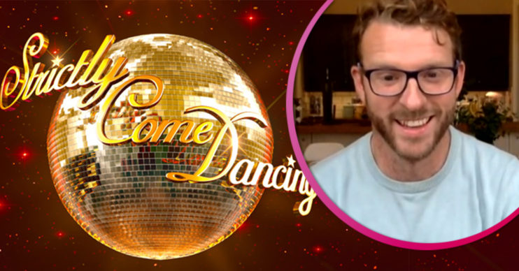 JJ Chalmers doing Strictly