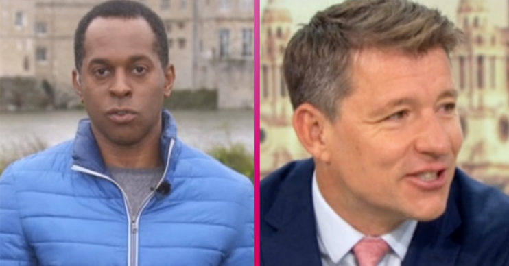 Andi Peters and Ben Shephard and GMB