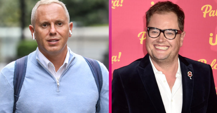 Judge Rinder and Alan Carr
