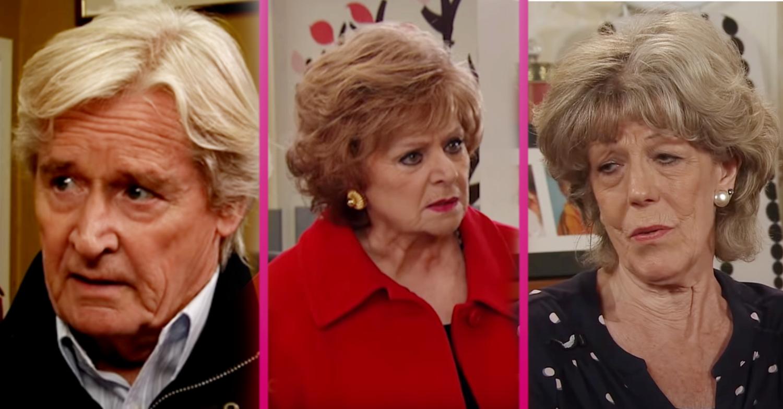 Coronation Street: Three major returns - Bill Roache, Barbara Knox and Sue Nicholls - confirmed for 60th anniversary