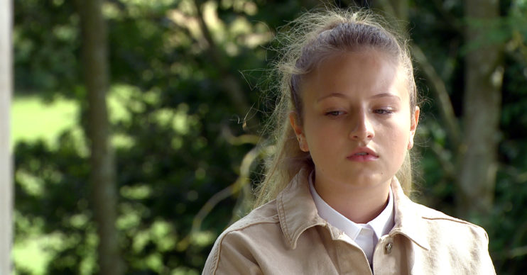 Amelia in Emmerdale played by Daisy Campbell