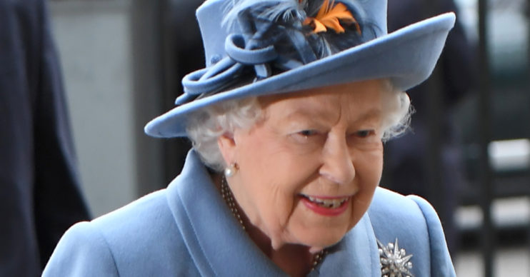 the queen smiling 2020