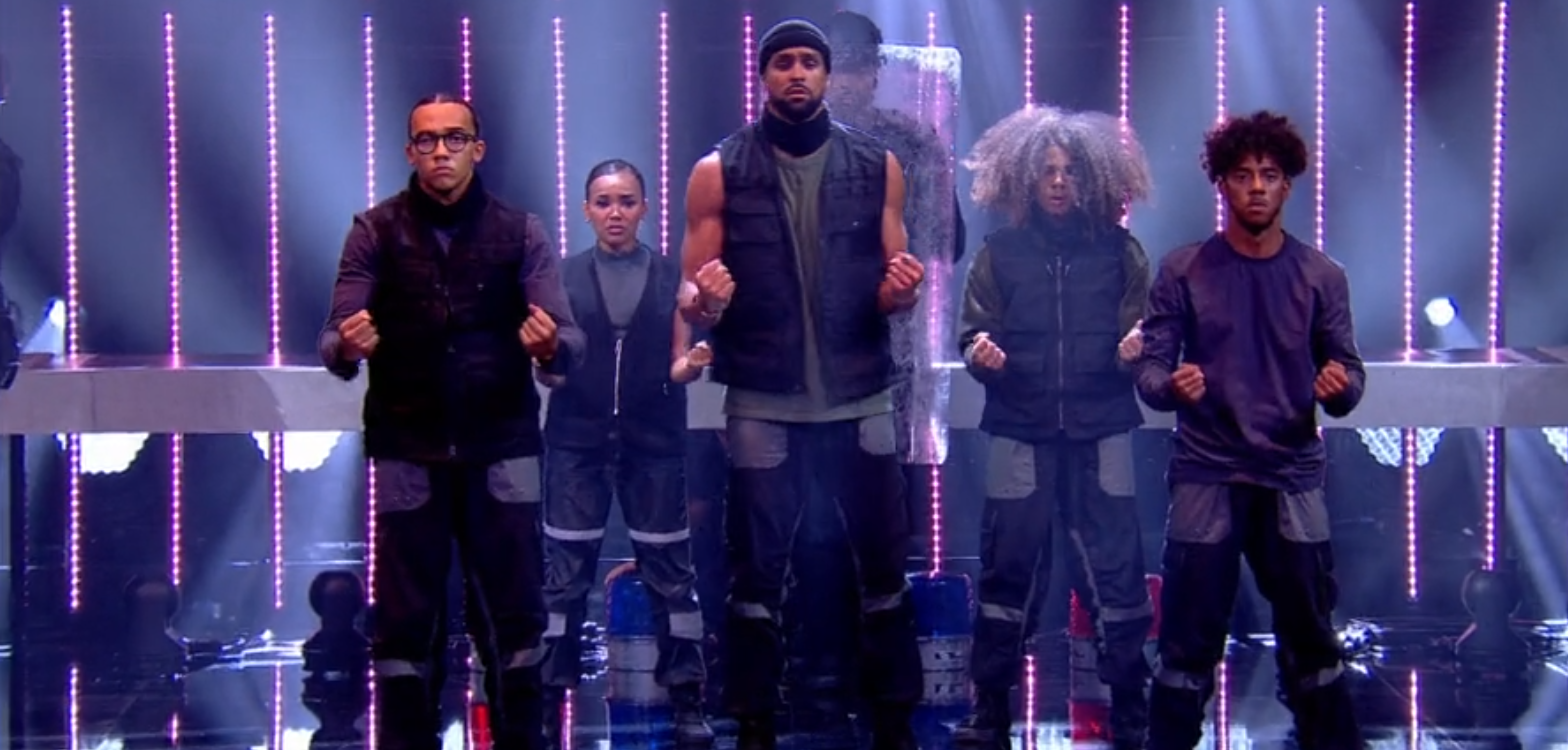 BGT: Ashley Banjo joins Diversity co-stars for Black Lives Matter dance