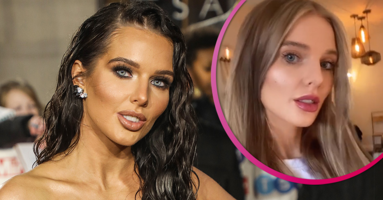 Helen Flanagan Shows Off New Hair After Going Blonde