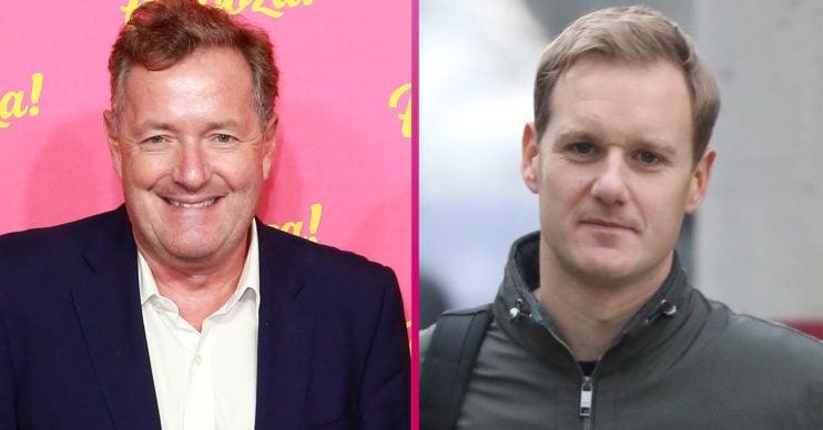 Piers Morgan and Dan Walker GMB