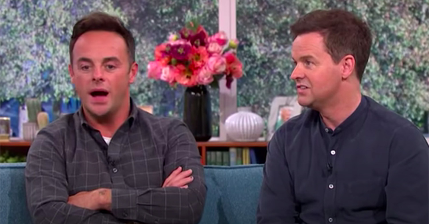 ant and dec this morning