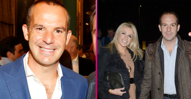 Martin Lewis and wife